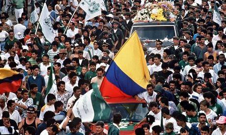 Hơn 120.000 người đã tham dự lễ tang của Andres. Ảnh: Guardian