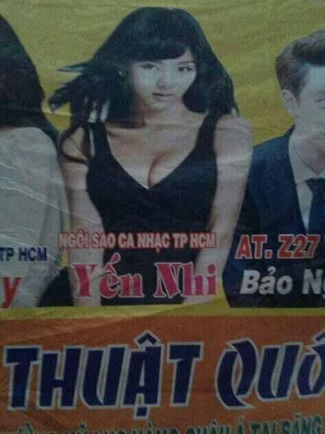 Chào Son Dam Bi, đã lâu không gặp thì ra cô đã đổi nghệ danh thành Yến Nhi từ bao giờ thế?