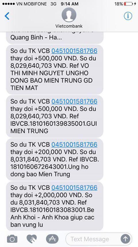 MC Phan Anh công khai số tiền mọi người ủng hộ…