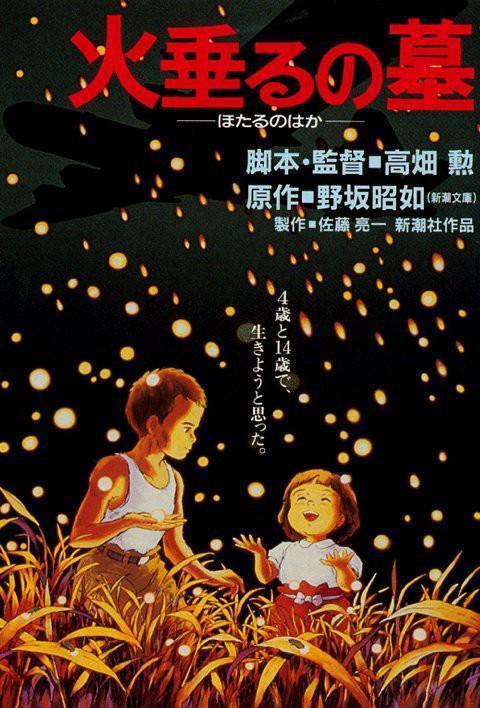 Ai cũng nghĩ hai đứa trẻ cô độc kia đang vui đùa giữa cánh đồng đom đóm, thế nhưng sự thực tàn khốc ẩn sau nền trời đen tuyền kia lại chính là chiếc máy bay - ác quỷ đã cướp đi sinh mạng của biết bao con người Nhật Bản.