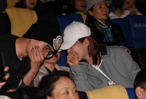 Lưu Hạo Nhiên xuất hiện ủng hộ phim mới, vô tình tiết lộ bí mật giữ bấy lâu với Mã Tư Thuần ảnh 6