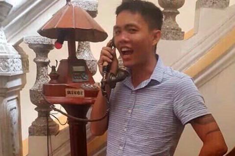 Đối tượng Phạm Thanh Tâm. Ảnh: báo Đất Việt