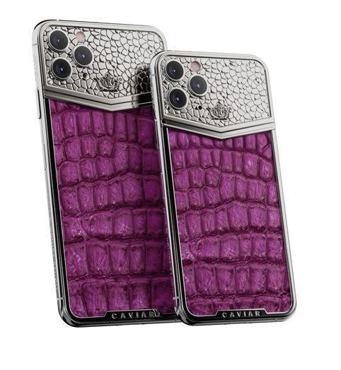 Nếu lựa chọn mặt lưng được bọc da cá sấu, người dùng phải chi ra tới 12.000 USD, đắt hơn 10 lần giá gốc của Apple.