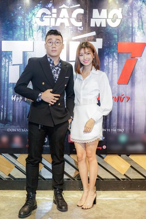 Ginô và bạn gái Kim Chi