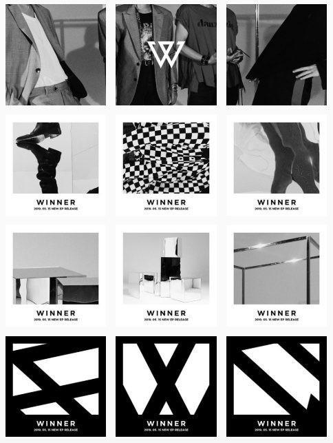 Teaser bí ẩn đầu tiên của Winner.