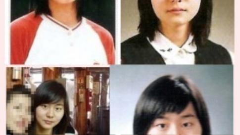 Những hình ảnh ngày trước cho thấy UEE sở hữu khuôn mặt khá tròn, mắt bé và cánh mũi to.