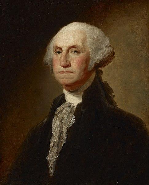 13. George Washington là Tổng thống duy nhất được toàn dân tín nhiệm bầu cử. Ảnh:Gilbert Stuart
