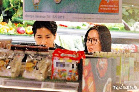 Tiểu hoa TVB Đường Thi Vĩnh bị nghi có tình mới, ngọt ngào dạo siêu thị và về nhà qua đêm ảnh 2