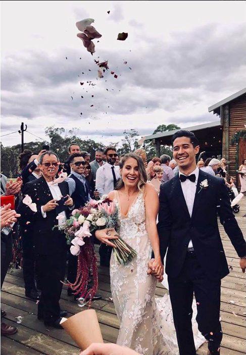 Cặp đôi đã chính thức kết hôn vào cuối năm 2018.