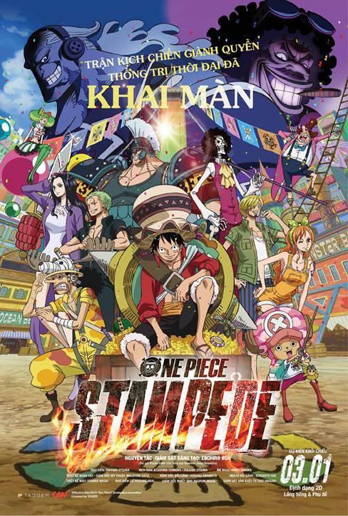Những lý do không nên bỏ lỡ siêu phẩm anime 'One Piece: Stampede'