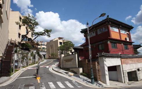 Một khu phố ở quận Seongbuk, Seoul, Hàn Quốc. (Ảnh minh họa: pinterest)