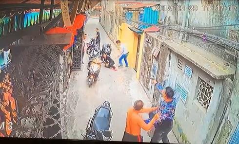 Camera ghi lại cảnh nổ súng bắn người ở Hải Phòng.