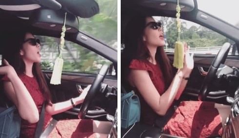 Hình ảnh chụp từ đoạn clip của Nam Em.