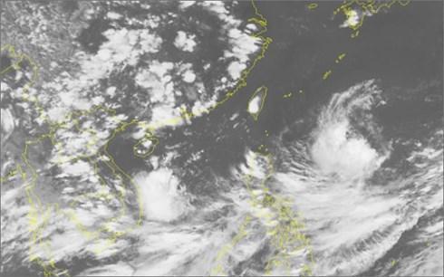 Đường đi của áp thấp nhiệt đới. Ảnh: VOV.