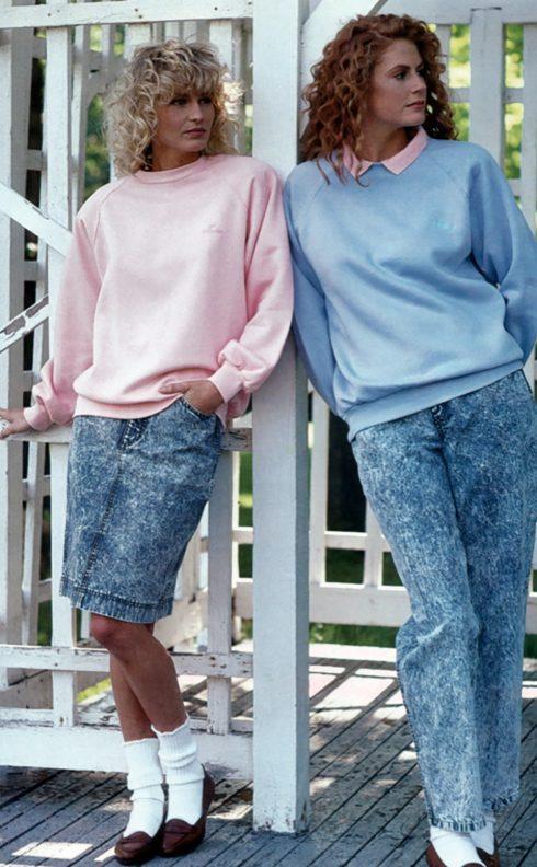 Những chiếc quần jean mài trở thành món đồ không thể không có trong tủ đồ của giới trẻ thời điểm bấy giờ.
