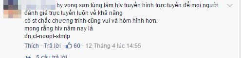 Khán giả nói gì khi HLV Giọng hát Việt nhí cuối cùng không phải Sơn Tùng ? ảnh 4