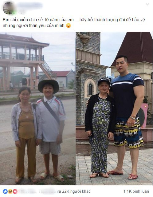 Bức ảnh cùng dòng trạng thái của anh chàng này đã thu hút hơn 22.000 lượt like cùng hàng nghìn lượt bình luận từ cư dân mạng.
