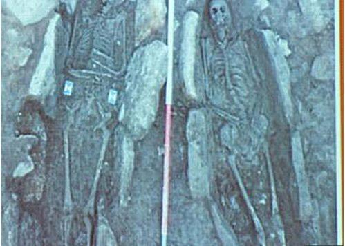 Các nhà khảo cổ cho rằng những bộ xương này thuộc về người La Mã