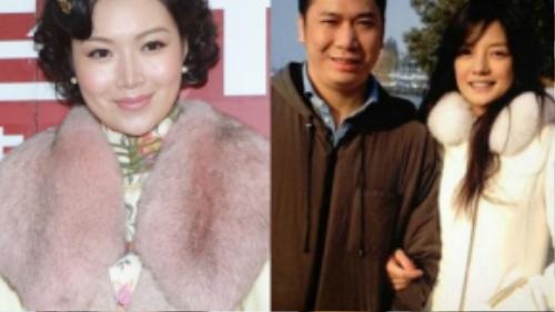 Triệu Vy và Huỳnh Hữu Long (phải) yêu đương nên duyên vợ chồng. Trước đó, đại gia họ Huỳnh gắn bó với cựu Hoa hậu Diệp Thúy Thúy.