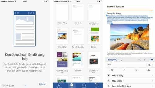 Microsoft Office cho iOS đã có trên App Store Việt Nam ảnh 1