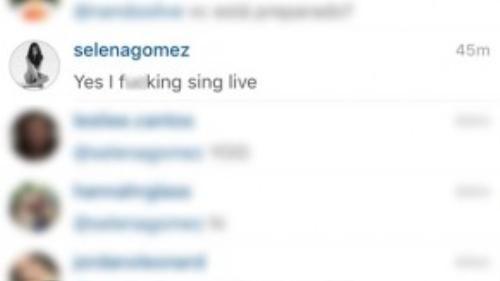 Nữ ca sĩ khẳng định hát sống trong show diễn.