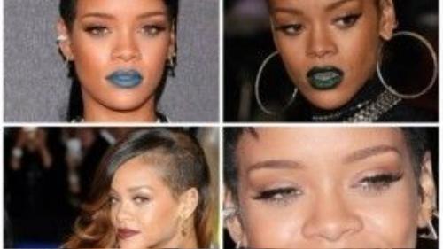 """Trải nghiệm những thỏi son màu lạ cùng những kiểu tóc """"quái đản"""" là cách mà Rihanna luôn tự hào: """"Tôi luôn làm theo cách của tôi""""."""