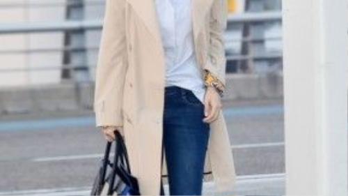 Phong cách thời trang của cô nàng được đánh giá rất cao.