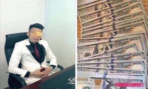 """Hình ảnh hào nhoáng """"ảo"""" của nghi phạm Nguyễn Duy Linh. Nguồn: Facebook."""
