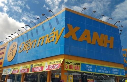 Hệ thống siêu thị Điện máy Xanh tại TP. HCM.