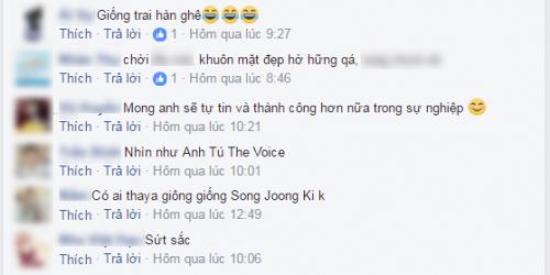 """Đức Phúc vừa giống Anh Tú vừa giống """"nam thần"""" số 1 Hàn Quốc – Song Joong Ki."""