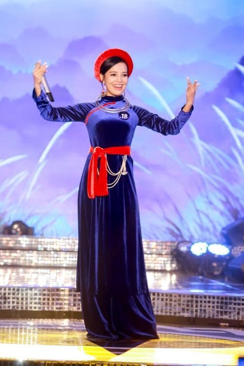 Thí sinh Sèn Hoàng Mỹ Lam.