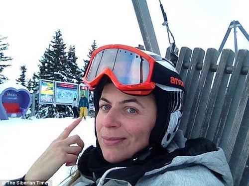 Irina Kozlova, 34 tuổi, nạn nhân xấu số trong vụ án.