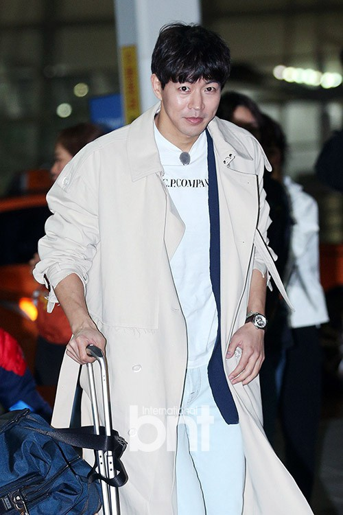 Lee Sang Yoon rạng rỡ chuẩn bị đến Việt Nam.