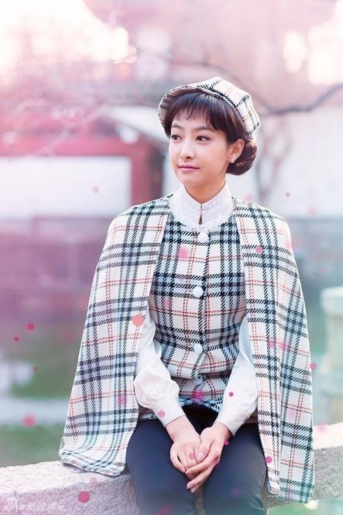 Tạo hình của cô trong bộ phim đóng cùng Dương Dương.