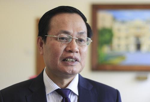"""GS Nguyễn Hữu Đức tại hội thảo """"Giải pháp nâng cao chất lượng và uy tín quốc tế của các trường đại học Việt Nam"""" diễn ra vào tháng 4 vừa qua. Ảnh: Dương Tâm"""