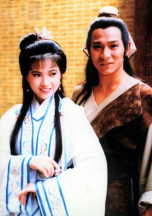 Lam Khiết Anh bên cạnh Lưu Đức Hoa trong tạo hình cổ trang đầu tiên