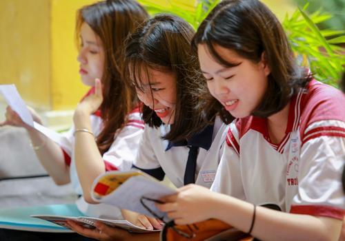 Thí sinh tham dự kỳ thi THPT quốc gia 2017. Ảnh:Thành Nguyễn.