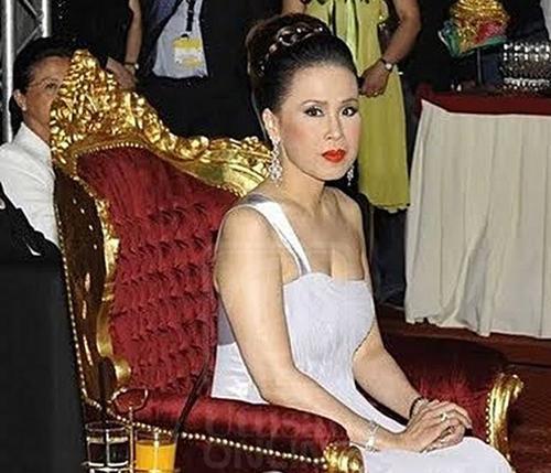 Bà Mom Sujarinee Mahidol na Ayudhaya, người vợ thứ hai của Nhà vua Thái Lan. Ảnh:Newsmov