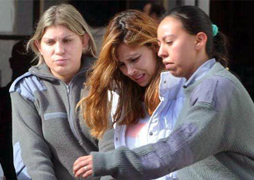 Sanclemente khi bị bắt ở Argentina. Ảnh: AP
