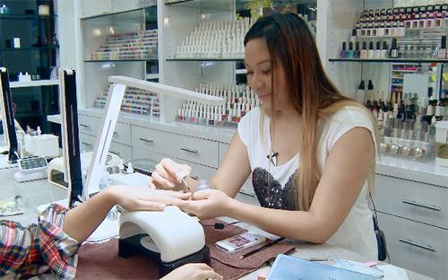 Một tiệm làm móng của người Việt tại Mỹ. Ảnh: Nailed It