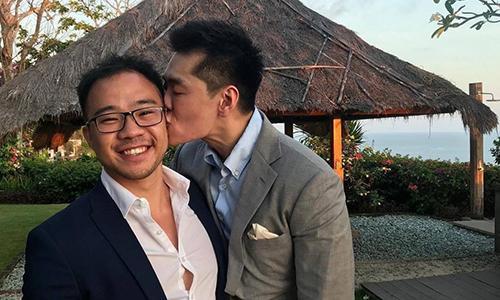 Cháu trai cố Thủ tướng Singapore kết hôn đồng tính, người dân Singapore ủng hộ nhiệt tình ảnh 0