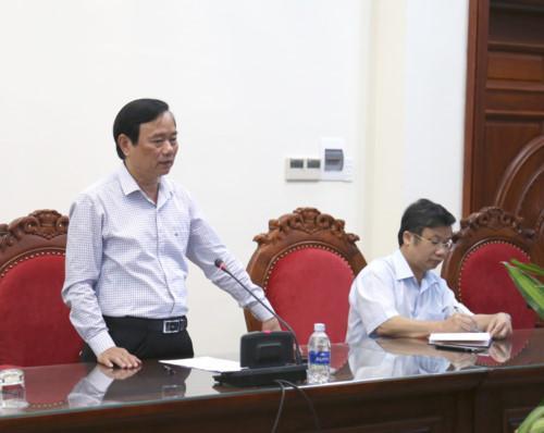 Ông Đinh Quý Nhân, giám đốc Sở GD&ĐT tỉnh Quảng Bình