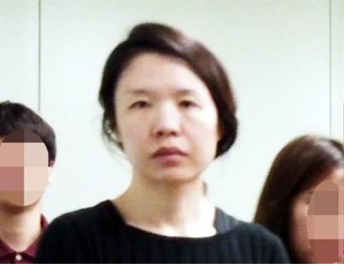 Koh Yoo-jung, 36 tuổi, người đã giết chồng cũ rồi phân xác.