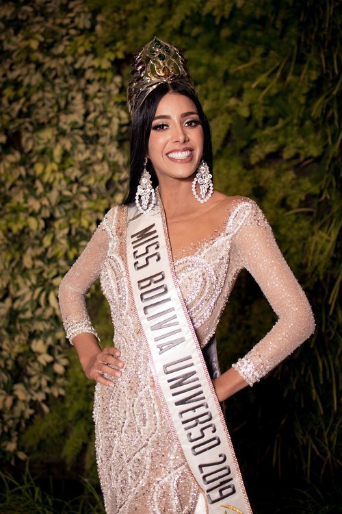 Mỹ nhân 21 tuổiFabiana Hurtado chính thức đại diện Bolivia ở đấu trường Miss universe 2019.