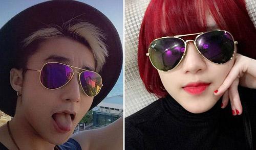 Ngoài ra, cả hai còn sử dụng nhiều đồ đôi giống nhau, đơn cử như mắt kính.