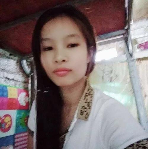 Chị Nguyễn Thị Hoài (vợ anh Lợi). Ảnh: Người nhà cung cấp