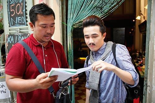 Đạo diễn Lý Minh Thắng và diễn viên Huỳnh Lập.