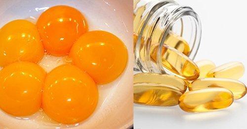 Chỉ cần lòng đỏ trứng và vitamin E