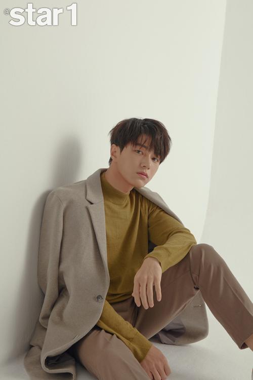 L (Kim Myung Soo) của Infinite trên tạp chí thời trang Star1.