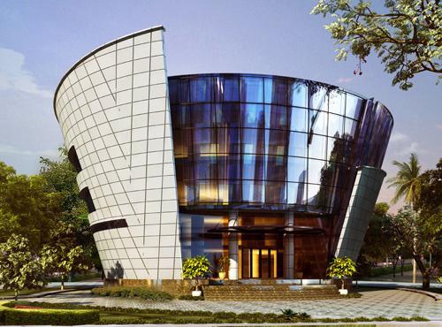 Thư viện ĐH Ngân Hàng.